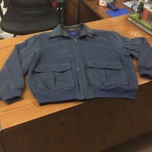Hickey-Freeman Wool/silk Blend Jacket Size XL